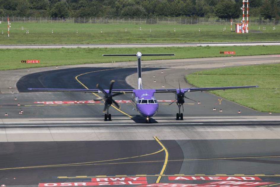 连城航空飞机