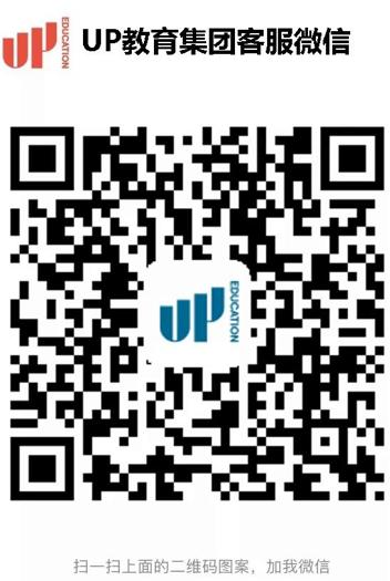UP教育集团-官方微信二维码