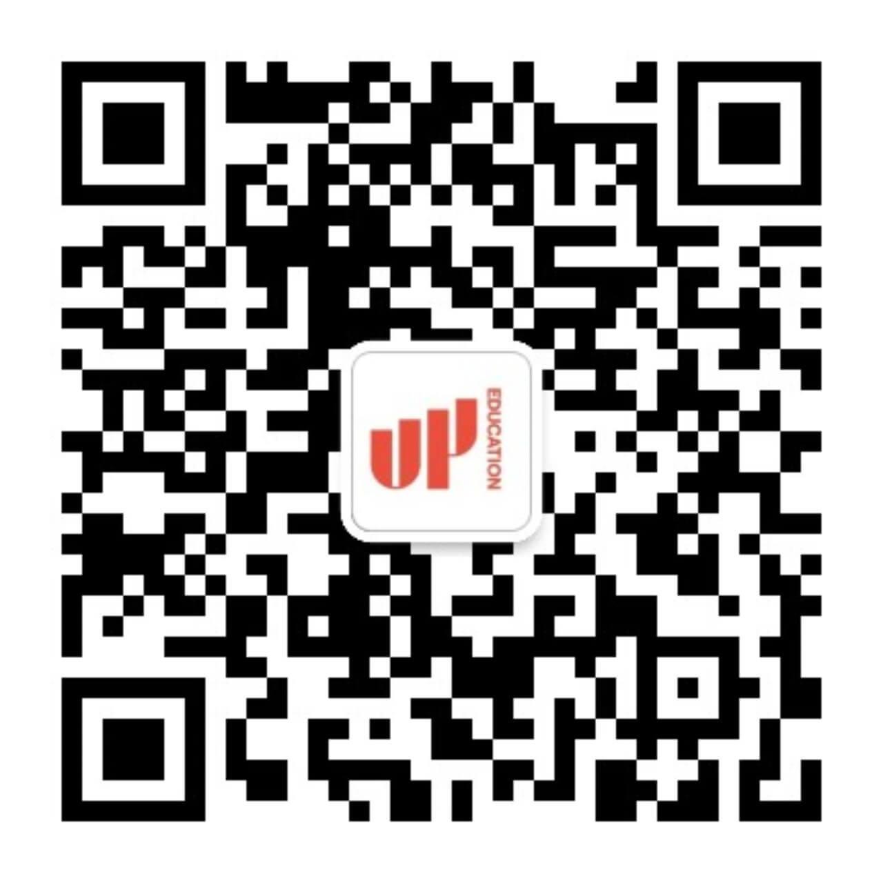 UP教育集团官方微信二维码