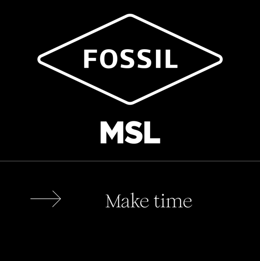 D&AD 新血奖 Fossil