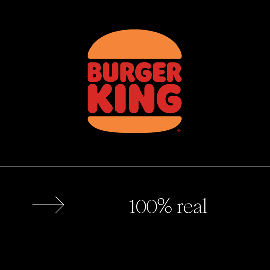 D&AD 新血奖 Burger King