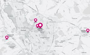 牛津布鲁克斯大学地图