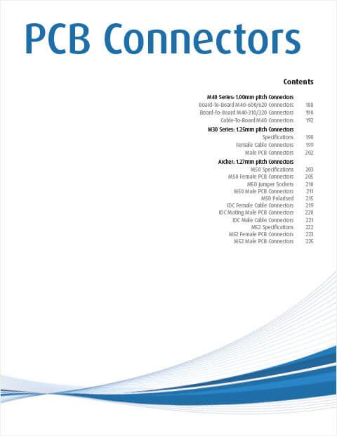 Harwin PCB connectors