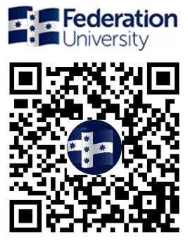 澳大利亚联邦大学QRcode
