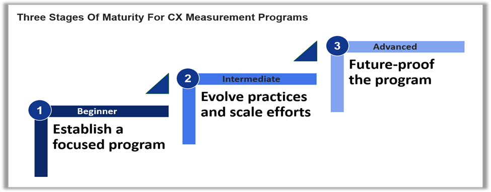 构建成熟的CX衡量项目