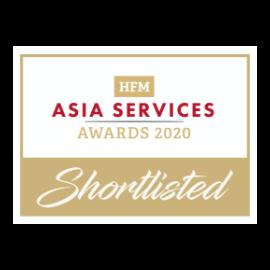 凯瑞奥信asia services awards 2020