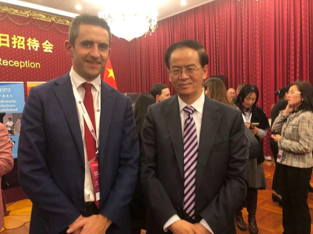 中国驻澳大使