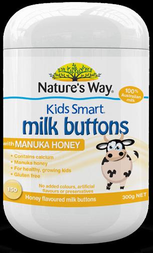 佳思敏儿童鲜奶片麦卢卡蜂蜜