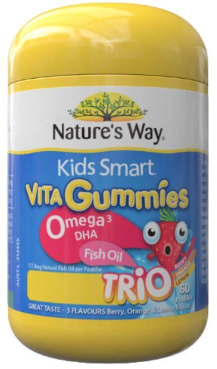 Omega-3鱼油软糖
