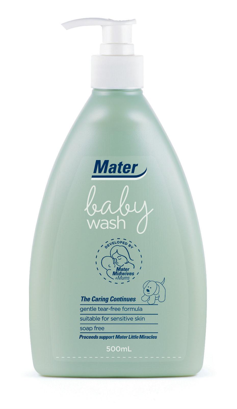 Mater Baby Wash适合敏感肌肤