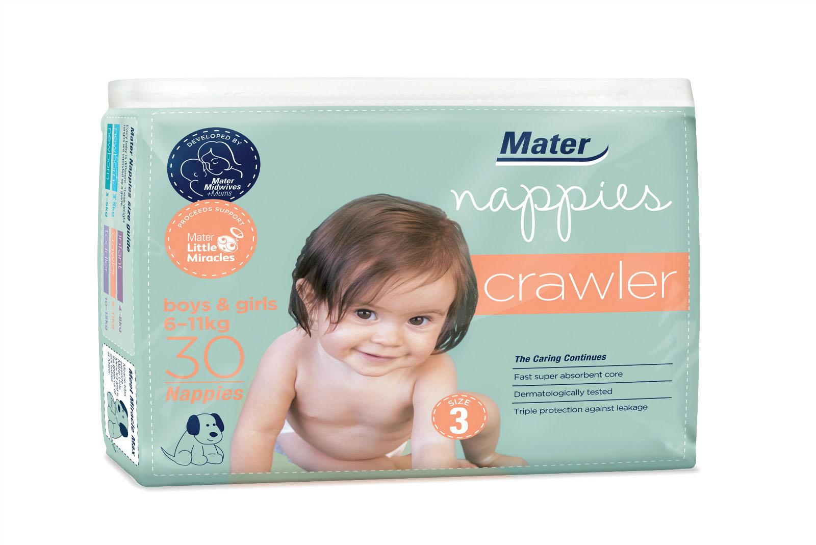Mater婴儿尿布婴儿#3号